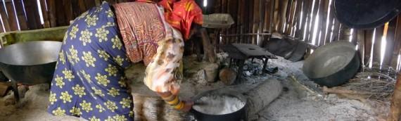 Cocinar y navegar en San Blas