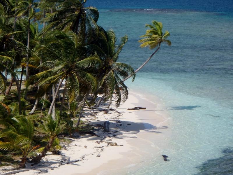 isla cocoteros san blas