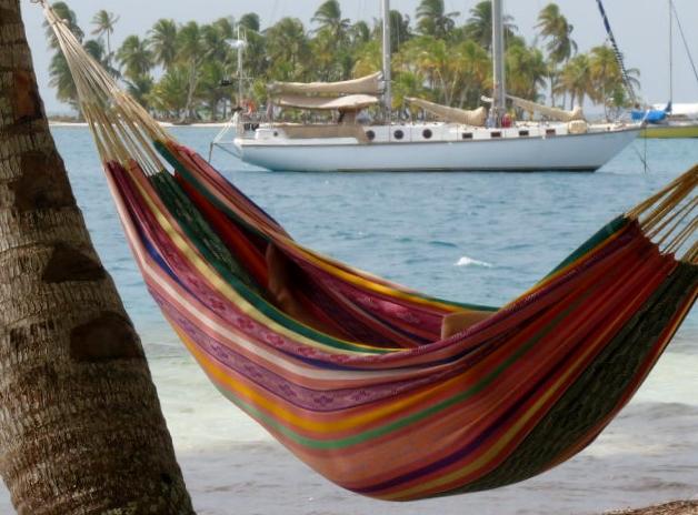 navega por islas san blas