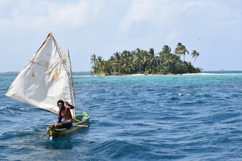 sailing san blas on pantalasa
