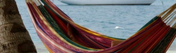 The hammock in the San Blas Islands